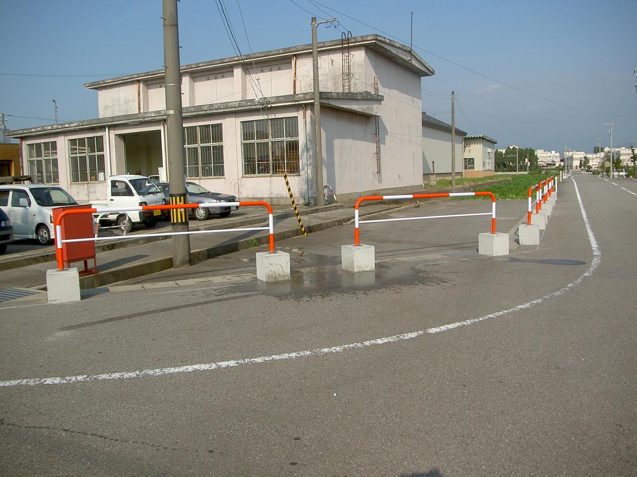 防護柵・防止柵(ガードレール・フェンス) 施工事例14