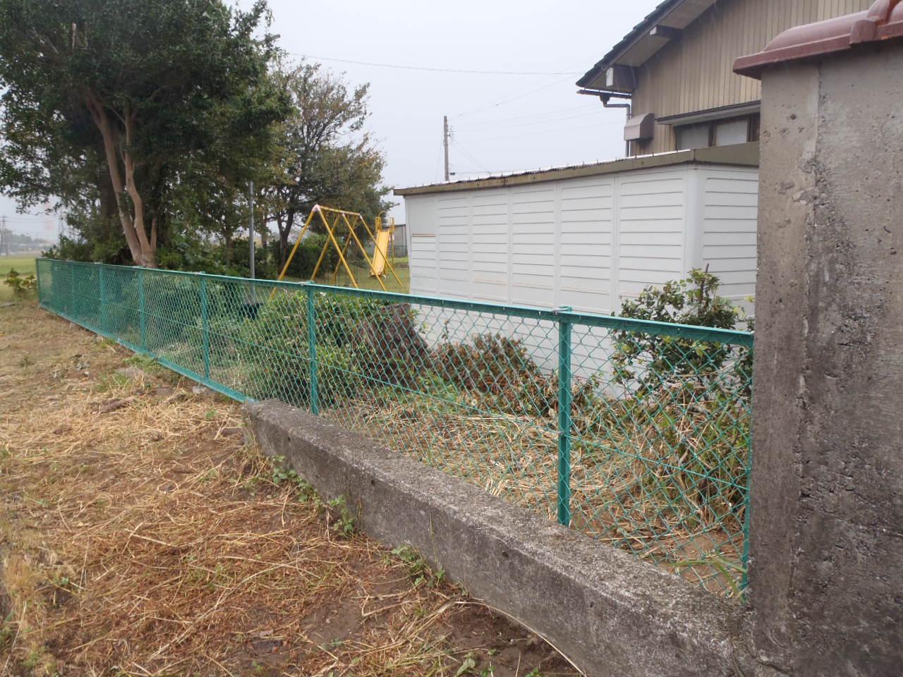防護柵・防止柵(ガードレール・フェンス) 施工事例24