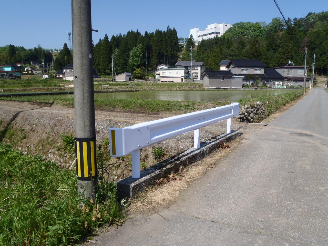 防護柵・防止柵(ガードレール・フェンス) 施工事例27