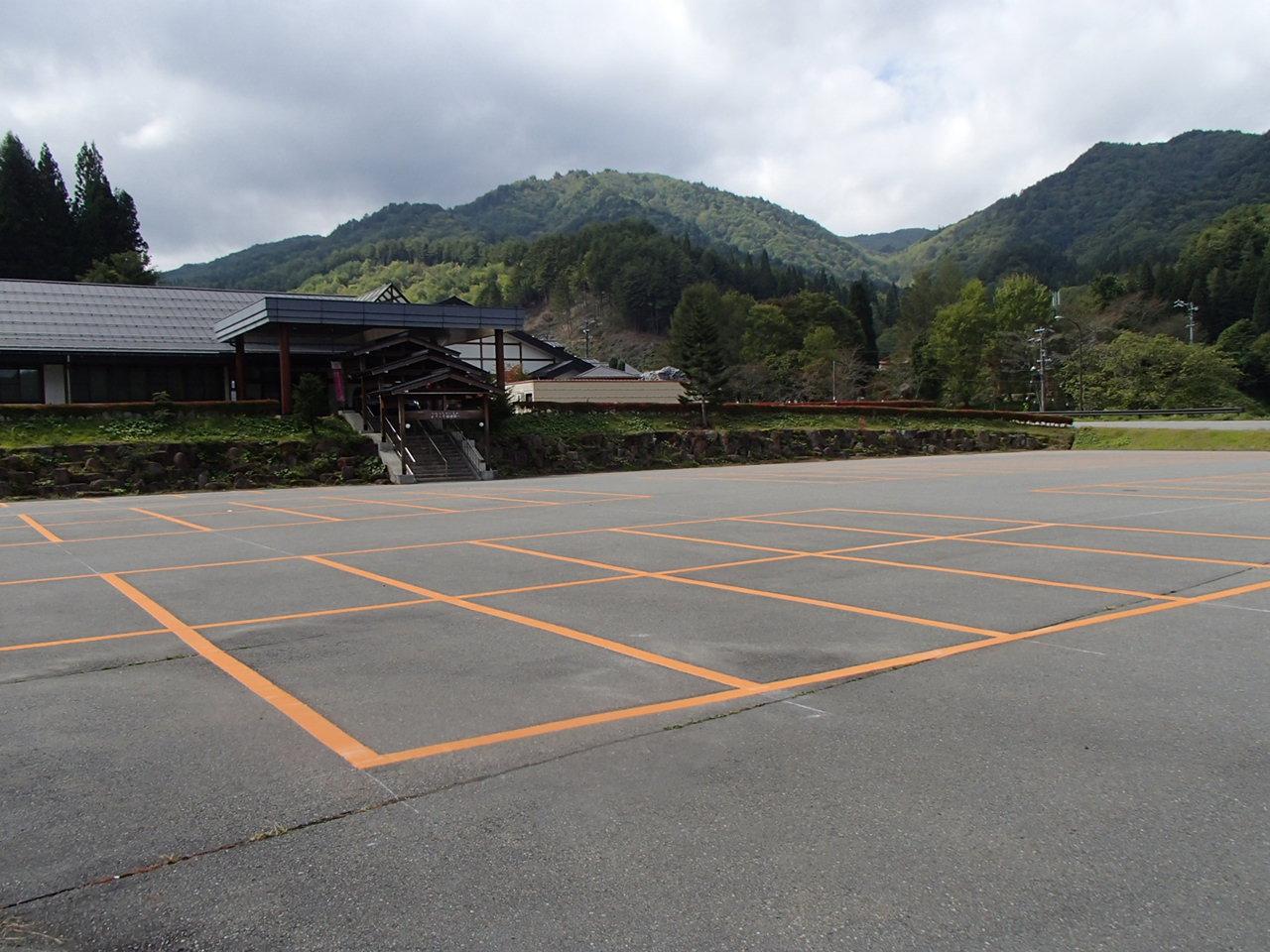 駐車場・白線ライン引き施工事例12