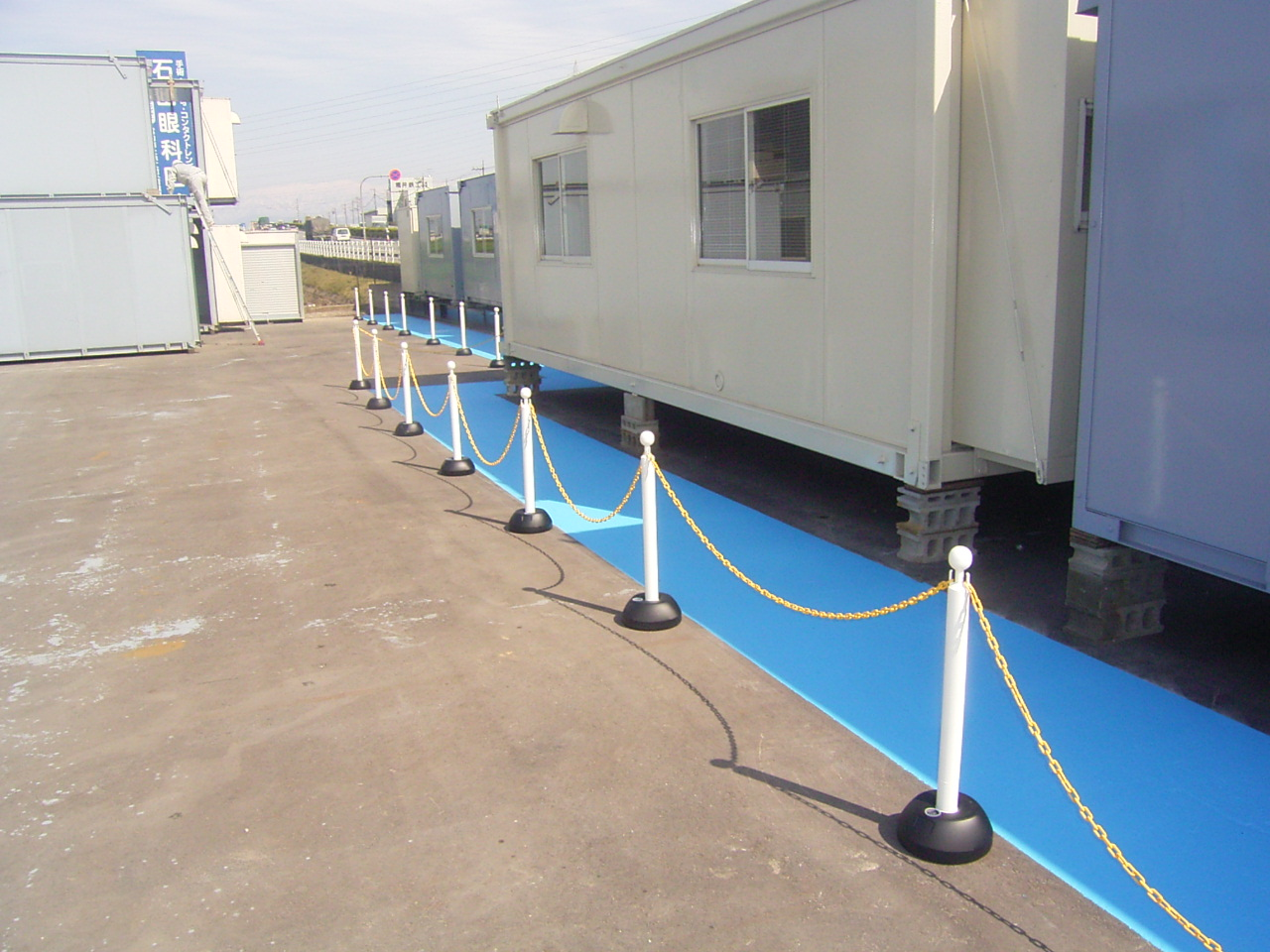 薄層カラー舗装(滑り止め)・路面カラー化 施工事例5