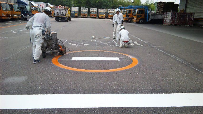 道路区画線(白線・ライン引き)8