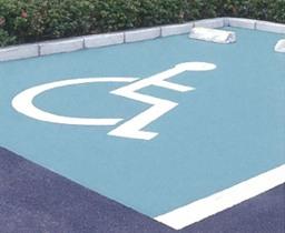 駐車枠のカラー化(珪砂混入ペイント塗料材) 施工標準価格
