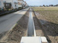 施工事例:用水路の改修工事